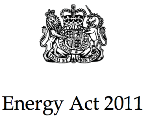 Energy Act 2011 logo